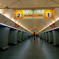 Photo taken at Metro =B= Karlovo náměstí by Roman L. on 6/22/2017
