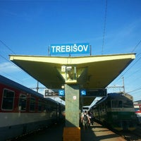 Photo taken at Železničná stanica Trebišov by Roman L. on 7/11/2016