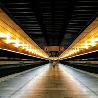 Photo taken at Metro =B= Radlická by Roman L. on 6/18/2017
