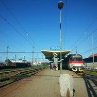 Photo taken at Železničná stanica Trebišov by Roman L. on 8/31/2016