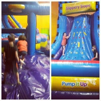 Photo taken at Pump It Up by Nicolle B. on 3/18/2015