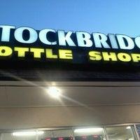 Photo taken at Stockbridge Bottle Shoppe by Tee L. on 10/17/2012