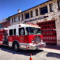 Photo taken at Carmel Fire Station by Julia on 6/22/2013