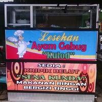 Photo taken at lesehan ayam gebug by De C. on 4/10/2013