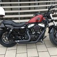 Photo taken at Harley-Davidson Capital Brussels by Arne V. on 11/10/2016