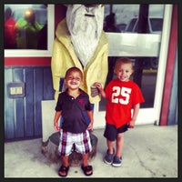 Photo taken at Captain Bobs BBQ & Seafood Restaurant by Jordan W. on 6/7/2013