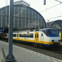 Photo taken at Amsterdam Central Railway Station by John W. on 5/14/2013