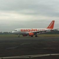 Photo taken at Belfast International Airport (BFS) by Sean M. on 3/1/2013