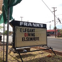 Photo taken at Frank's Restaurant by Ella E. on 5/10/2013