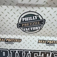 Photo taken at Philly Pretzel Factory by Marcia M. on 5/2/2015
