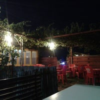 Photo taken at Oltre Il Mare Libreria Wine Bar by Virgie S. on 7/10/2014