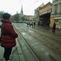 Photo taken at Anglické nábřeží (tram) by Tomáš N. on 1/29/2013