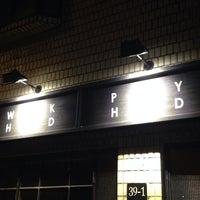 Photo taken at Work hard Play hard by Minkyu C. on 2/28/2014