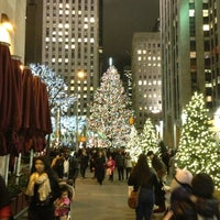 Photo taken at Rockefeller Center Christmas Tree by RC on 12/19/2012