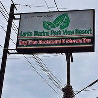 Photo taken at Lanta Marine View by Mark L. on 10/7/2013