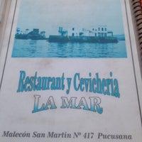 Photo taken at Restaurant Cevicheria La Mar by Rossana C. on 4/21/2014