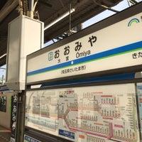 Photo taken at 東武大宮駅 1-2番線ホーム by ide k. on 5/14/2017
