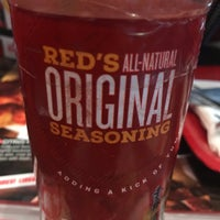 Photo taken at Red Robin Gourmet Burgers by Trent T. on 4/1/2017