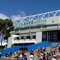 Photo taken at Rod Laver Arena by Storm M. on 1/20/2013