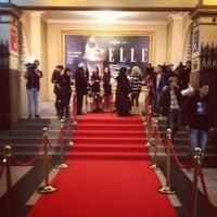 Снимок сделан в Кинотеатр «Киев» пользователем Viktoriya P. 12/9/2012