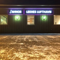 Photo taken at Leknes Lufthavn (LKN) by Emy D. on 2/1/2018