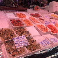 Photo taken at Pescaderia Costa Gallega by Emy D. on 10/14/2017
