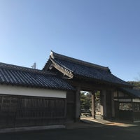 Photo taken at 鷲の門 by yasustyle on 3/17/2018