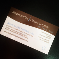Photo taken at Stephanides Plastic Surgery by Stephanides Plastic Surgery on 1/7/2015