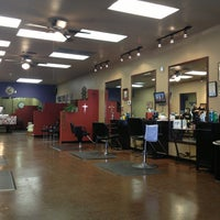Photo taken at North Scott Barber Shop by David S. on 1/17/2013