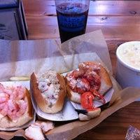 Photo taken at Luke's Lobster | Bethesda Row by Tuff G. on 10/10/2012