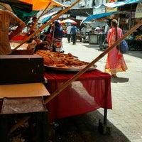 Photo taken at Bhendi Bazaar by Sho K. on 6/22/2016