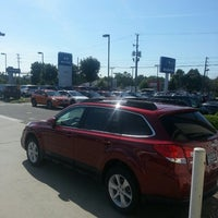 Photo taken at Parkway of Wilmington   Volvo Hyundai Subaru by Matthew H. on 5/27/2013