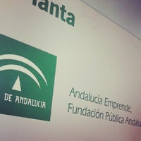Photo taken at Fundacion Red Andalucia Emprende by Juanan d. on 3/4/2014