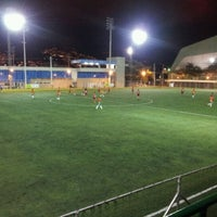 Photo taken at Cancha Marte 1 by Óscar David R. on 10/23/2012