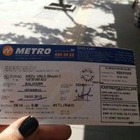 Photo taken at metro turizm by Arzu Ü. on 5/18/2015