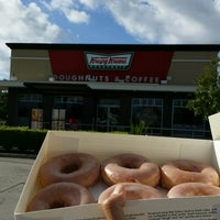 Photo taken at Krispy Kreme by Selina P. on 2/27/2017