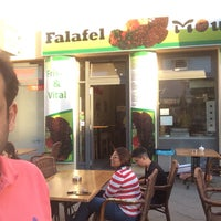 Photo taken at Falafel Moudi by Abdullah A. on 5/27/2018