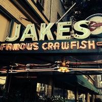 Photo taken at Jake's Famous Crawfish by Matt A. on 9/23/2013