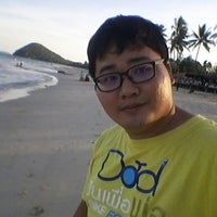 Photo taken at Tung Wua Laen Beach by Book T. on 3/3/2018