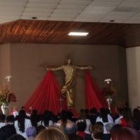 Photo taken at Templo de la Juventud San Juan Bosco by Tania E. on 10/29/2016