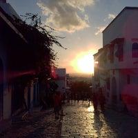 Photo taken at Sidi Bou Said by ozlm o. on 10/16/2013
