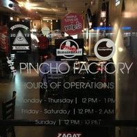 Photo taken at Pincho Factory by Julius Droolius on 2/6/2013