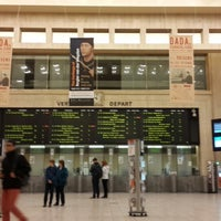 Photo taken at Brussels Central Station by Ruben D. on 10/12/2013