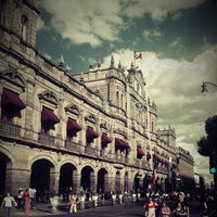 Photo taken at Zócalo by Gerry R. on 10/28/2012