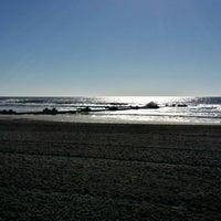 Photo taken at 13th St. Beach by John C. on 9/27/2014