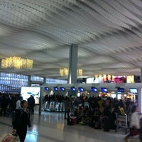 Photo taken at Terminal 2 by Olga A. on 1/2/2013