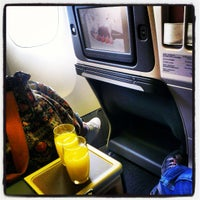Photo taken at CX510 HKG-TPE-FUK / Cathay Pacific by Kenny Y. on 4/5/2013