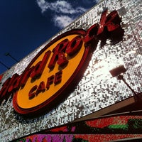 Photo taken at Hard Rock Cafe Hollywood on Hollywood Blvd by Lacy P. on 3/9/2013