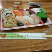 Photo taken at Sushi Hub by Marta P. on 2/20/2015