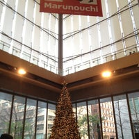Photo taken at Marunouchi Building by _kana_ F. on 12/24/2012